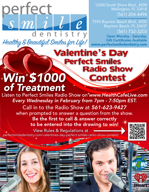 Valentine's Day Perfect Smiles Radio Show Contest