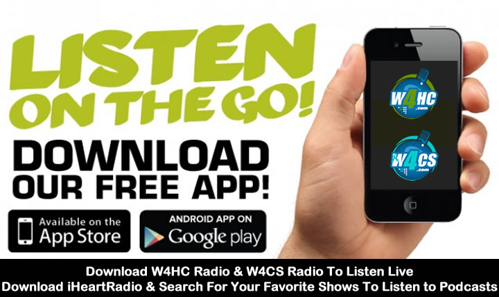 Download the W4HC & W4CS Radio App